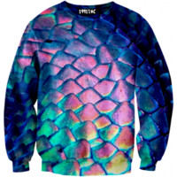☮♡ Colorful Snakeskin Sweater ✞☆