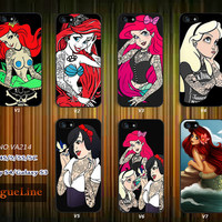 Disney princess iPhone 5 case, iPhone 5C Case, iPhone 5S case, iPhone 4S Case, Samsung Galaxy S3, Samsung Galaxy S4--VA214