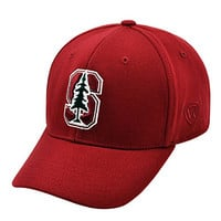 Stanford Cardinal Top of the World NCAA Premium One Fit Hat (Crimson) M/L