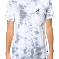 The Crystal Wash Script Tee in White