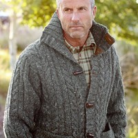 Cusco Cable Sweater    J.L. Powell