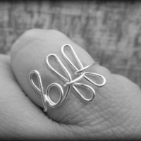 Best friend BFF ring...Made any size.