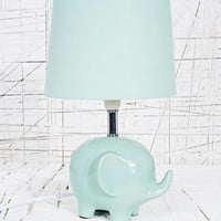 Elephant Lamp UK Plug in Mint at Urban Outfitters