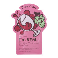 I Am Real Red Wine Mask Sheet