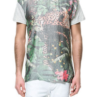 LEOPARD T-SHIRT - Man - New this week - ZARA United States