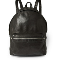 Saint Laurent - Leather Backpack | MR PORTER