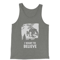 Demogorgon I Want To Believe Jersey Tank Top for Men