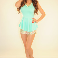 All We Know Top: Mint | Hope's