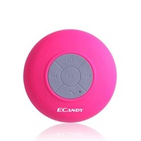 ECandy E915 Round Waterproof Wireless Bluetooth Shower Speaker