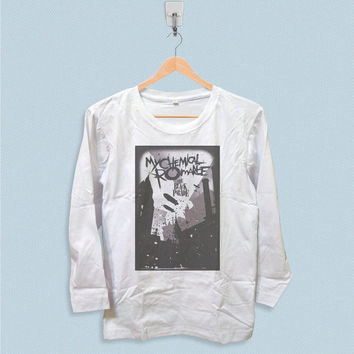 Long Sleeve T-shirt - My Chemical Romance The Black Parade Poster