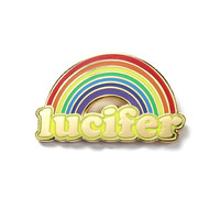 Lucifer Rainbow Pin