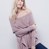 2017 autumn and winter new women's sexy strapless sweater [186297810970]