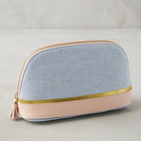 Chambray Pouch