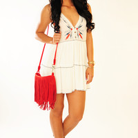 HOPE'S: Show Your Love Dress: White