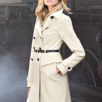 Belted Military Coat - Victoria's Secret