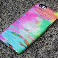Abstract Painting iPhone Case 6 Pink Case Green iPhone 5S 5iPhone 5CiPhone 4S/4 Case Blue Samsung Galaxy S6 edge S6 S5 S4 Note 3 Case 036