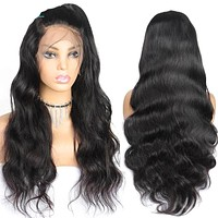 Pre Plucked Full Lace 13X4 Lace Front Wigs Human Hair Wigs Body Wave