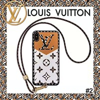 LV Vintage Presby Wrist Strap iphone 11 Mobile Shell #2