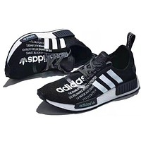 ADIDAS NMD R1 Tide brand knitted breathable casual shoes
