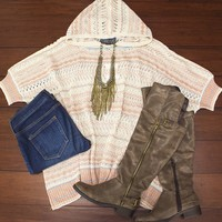 Dream Catcher Poncho $38.00