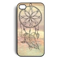 amtonseeshop Newly Fashion Brand New Hot Dream Catcher Print Case Back Cover for Iphone 5s 5 5g/ Iphone 4 4s 4g 4th/samsung Galaxy S4 I9500 (Light color for iPhone 5 5G 5S)