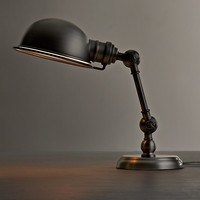 Mini Academy Task Table Lamp Antique Brushed Nickel