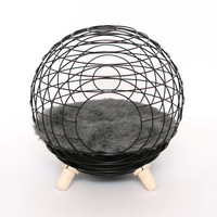 Designer Cat bed Black