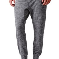 On The Byas Panel Slouch Jogger Sweatpants - Mens Pants - Gray