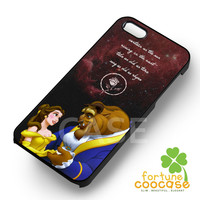 Disney Beauty and The Beast Love Quote -stle for iPhone 6S case, iPhone 5s case, iPhone 6 case, iPhone 4S, Samsung S6 Edge