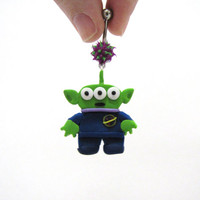 Toy Story Alien belly button ring