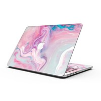 Marbleized Color Paradise V2 - MacBook Pro with Retina Display Full-Coverage Skin Kit