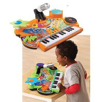 Toddler Musical Record And Learn KidiStudio Keyboard with Mic Toy Playset