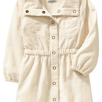 Corduroy Shirtdresses for Baby