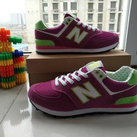 New Balance Fashion Casual All-match N Words Breathable Couple Sneakers Shoes-3