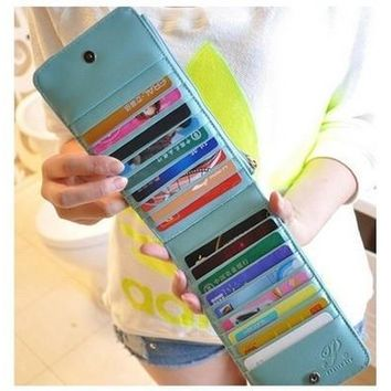 PU Leather Women Wallets Candy Color Card & ID Holders Women Wallet Ladies' Purses = 1958639812
