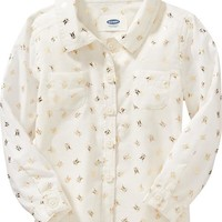Old Navy Bug Print Shirt For Baby