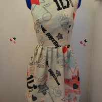 One Direction symbolic dress - choice of 2 designs.