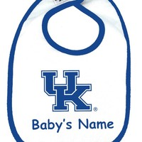 Kentucky Wildcat Personalized Baby Bib