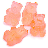 Pink Grapefruit Gummy Bears: 5LB Bag