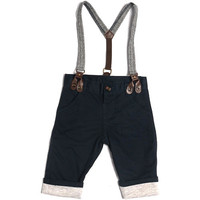 Truly Scrumptious Boys Twill Suspender Pant