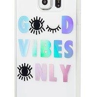 Good Vibes Only - Samsung GS6 - Cases