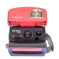 Pink & Grey Polaroid 600 Spice Cam Instant Analog Camera