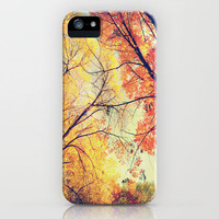 Autumn Embrace iPhone Case by Ann B. | Society6