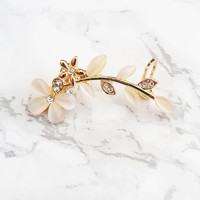 Dainty Bloom Ear Cuff