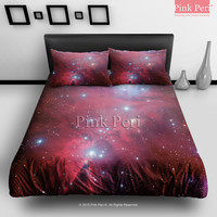 The Cone Nebula NGC (2264) Space Bedding sets Home & Living Wedding Gifts Wedding Idea Twin Full Queen King Quilt Cover Duvet Cover Flat Sheet Pillowcase Pillow Cover 003