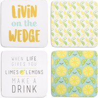 Make a Drink Coasters with Box