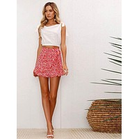 RUFFLE WRAP IT SKIRT