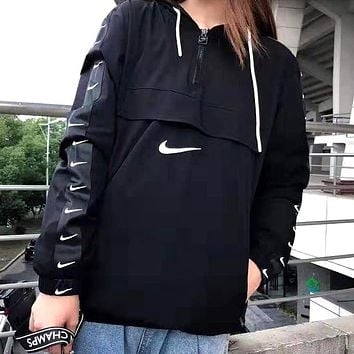 NIKE Autumn Winter Fashion Men Women Casual Hoodie Sweater Sweatshirt