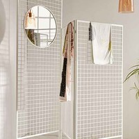 Layered Lines Screen Room Divider