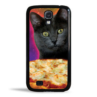 Galaxy Cat Pizza Pie Obsession Case for Samsung Galaxy S4